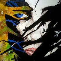 """""""Di foglie e di rovo"""" by Fabio Govoni (tecnica mista su tela, 50 x 70 cm, 2012)"""