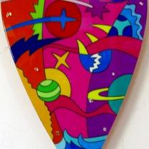 """""""Soft Heart"""" by Massimo Sansavini, opera su forex laccato realizzata in edizione di 9 esemplari"""